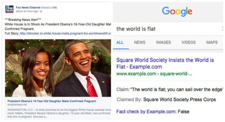El buscador de Google ya te permite marcar qué noticias son falsas 1