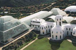 El proyecto Biosfera 2, preparando los huertos que se cultivarán en Marte 6