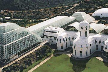 El proyecto Biosfera 2, preparando los huertos que se cultivarán en Marte 8