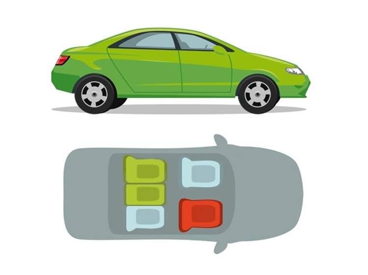 Cómo elegir el asiento más seguro en 6 tipos de transporte 6
