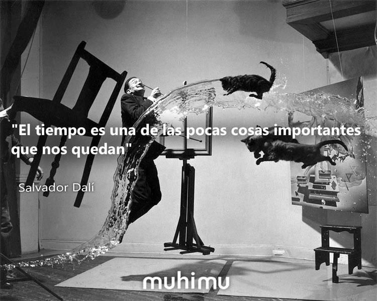 15 frases de Salvador Dalí sobre el tiempo, el arte y la vida 2