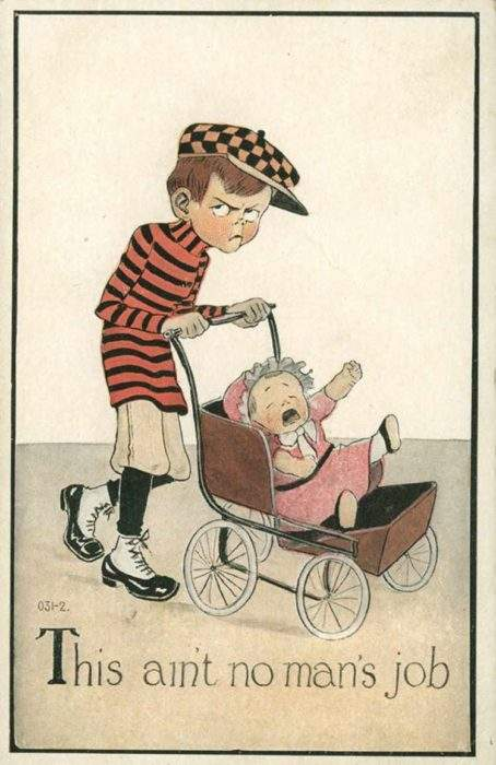"""Estas postales propagandísticas de principios del siglo XX muestran lo """"peligrosos"""" que eran los derechos de las mujeres 8"""