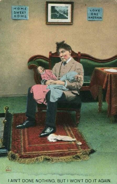"""Estas postales propagandísticas de principios del siglo XX muestran lo """"peligrosos"""" que eran los derechos de las mujeres 12"""