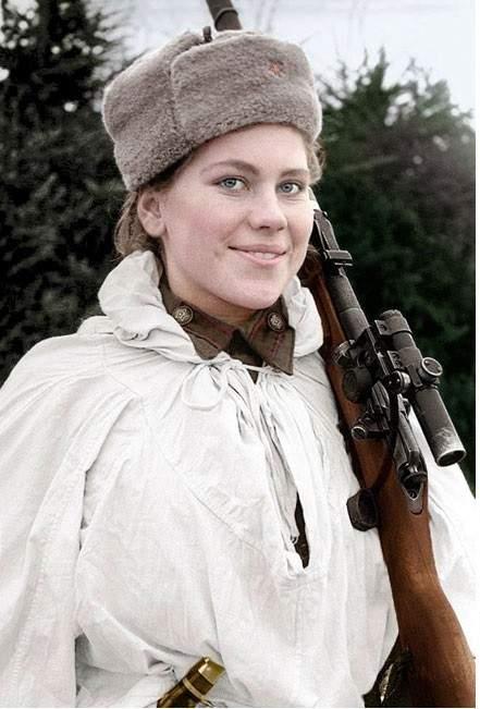 Lady Death y otras francotiradoras soviéticas que aterrorizaron a los nazis 3