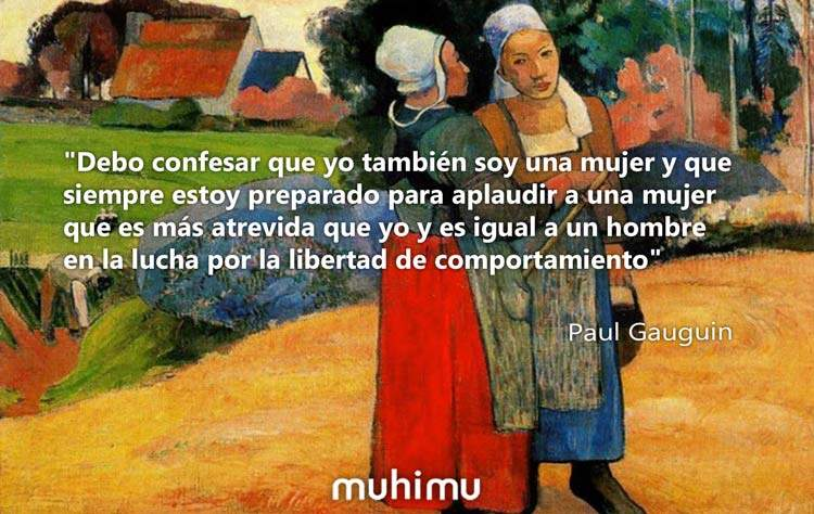 8 intensas frases de Paul Gauguin sobre la juventud, la mujer, la vida y la pintura 11