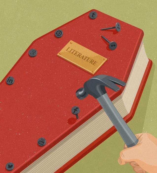Un repaso a la realidad más satírica a través de las 10 mejores ilustraciones de John Holcroft 10