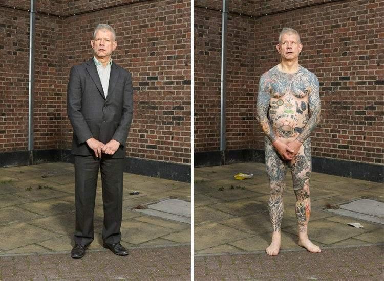 Un fotógrafo capta qué ocurre cuando los prejuicios se esconden bajo la ropa 8