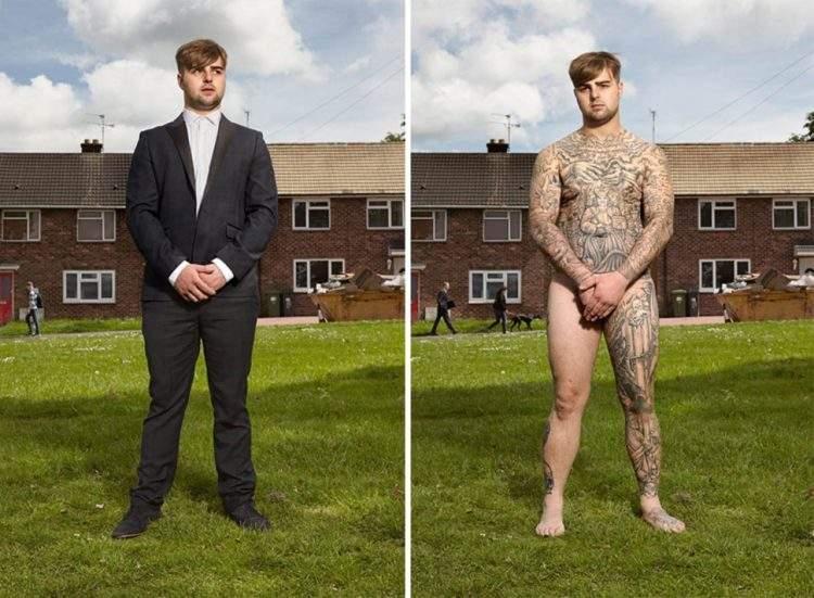 Un fotógrafo capta qué ocurre cuando los prejuicios se esconden bajo la ropa 12