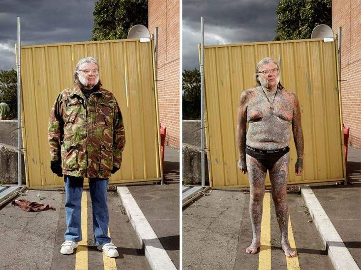 Un fotógrafo capta qué ocurre cuando los prejuicios se esconden bajo la ropa 1