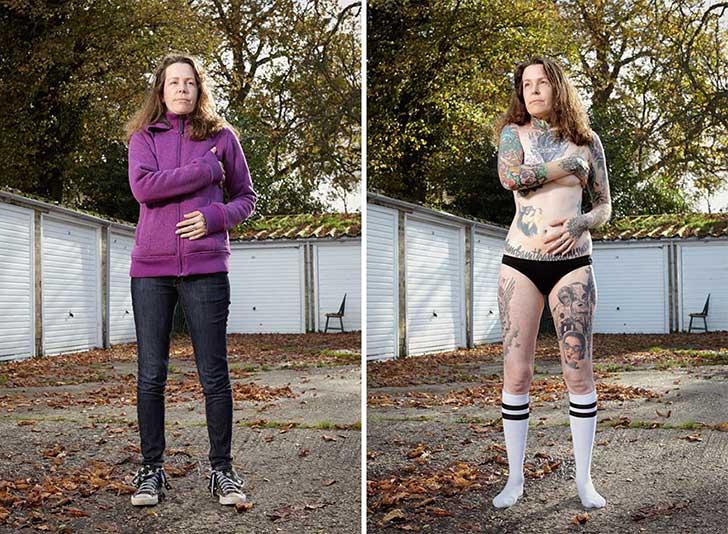 Un fotógrafo capta qué ocurre cuando los prejuicios se esconden bajo la ropa 9