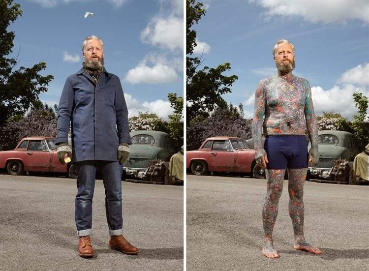 Un fotógrafo capta qué ocurre cuando los prejuicios se esconden bajo la ropa 10