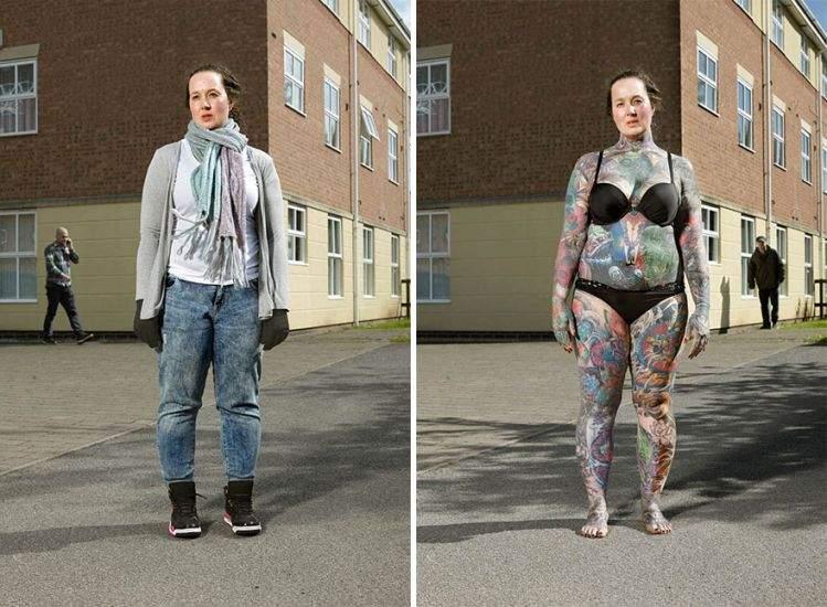 Un fotógrafo capta qué ocurre cuando los prejuicios se esconden bajo la ropa 7