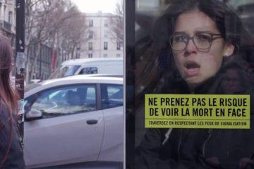 La campaña que capta tu cara de miedo para concienciar sobre los peligros de cruzar sin mirar 6