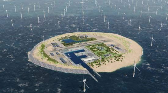 Dogger Island: la gigantesca isla que suministrará energía renovable a 80 millones de personas en Europa 2