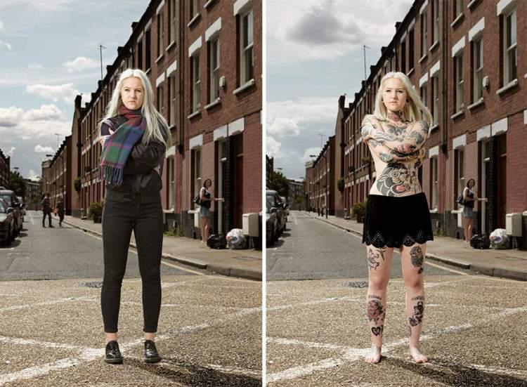 Un fotógrafo capta qué ocurre cuando los prejuicios se esconden bajo la ropa 4