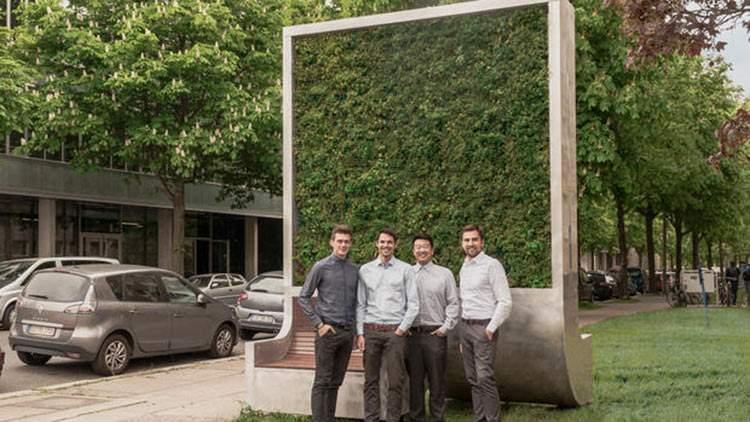 CityTree, el panel de musgo que absorbe la contaminación como si fuese 275 árboles 3