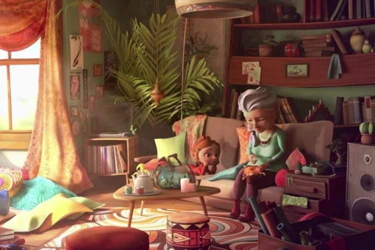 """El corto que nos recuerda porqué """"las abuelas nunca mueren"""", siempre quedan en nuestro corazón 2"""