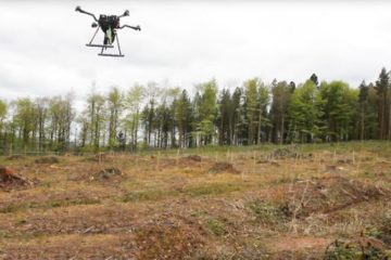 Estos drones están reforestando un bosque entero en Myanmar 14