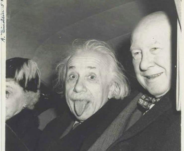 La curiosa historia detrás la foto más famosa de Albert Einstein 1