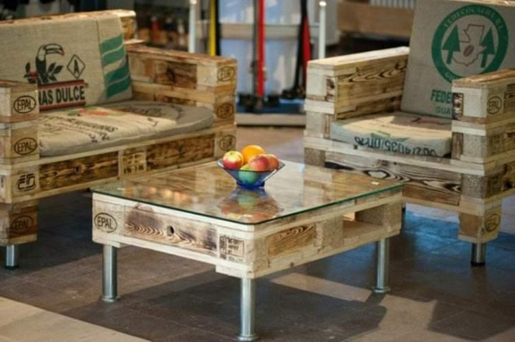 C mo construir muebles reutilizando palets for Marcas de muebles