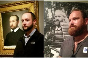 20 personas que encontraron un sorprendente parecido razonable en los lienzos de un museo 13