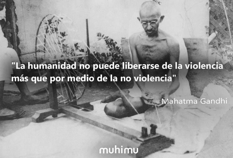 """14 frases de Gandhi, """"el puñado de sal"""" que cambió el mundo 4"""