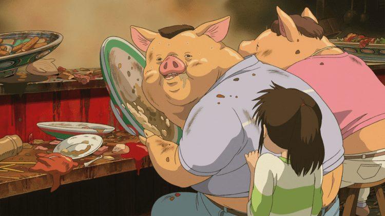 Según el propio Miyazaki, El viaje de Chihiro es una alegoría del cambio representado en la pequeña protagonista