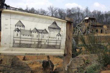 20 años para construir un castillo medieval con técnicas de la época. ¡Increíble! 8