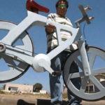 Esta es la revolucionaria bicicleta hecha de material reciclado que cuesta solo 7€
