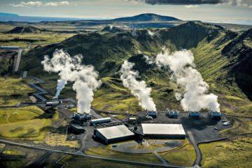 Islandia abre una central eléctrica que captura contaminación del aire y genera energía limpiándolo 15