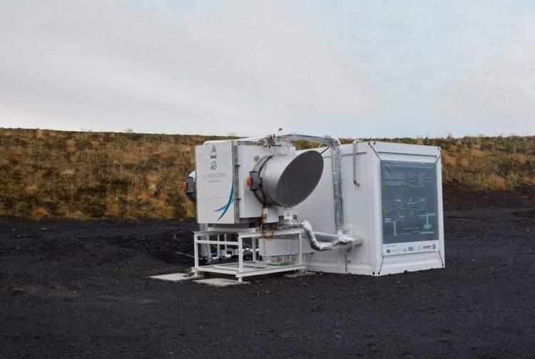 Islandia abre una central eléctrica que captura contaminación del aire y genera energía limpiándolo 1