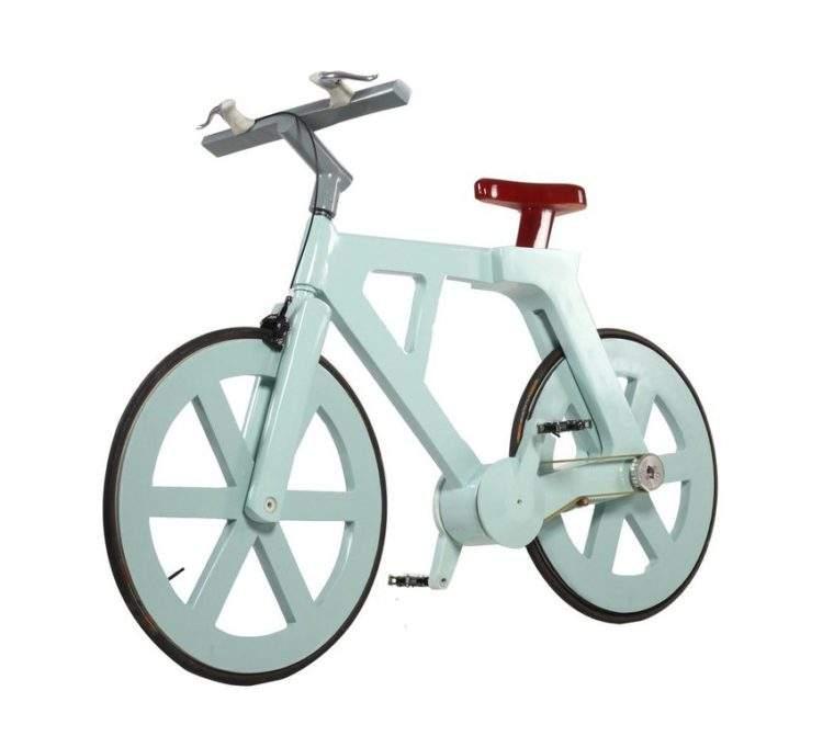 Esta es la revolucionaria bicicleta hecha de material reciclado que cuesta solo 7€ 2