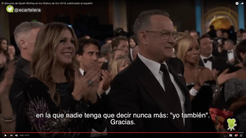 Traducimos el inspirador y valiente discurso de Oprah Winfrey 8
