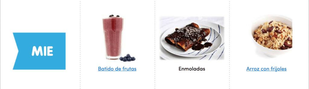 Aquí puedes ver un menú completo, sencillo y vegano para comer sano toda la semana 4