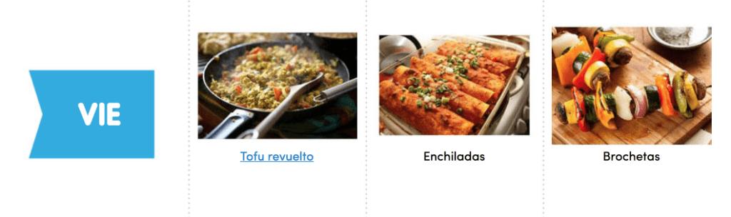 Aquí puedes ver un menú completo, sencillo y vegano para comer sano toda la semana 6