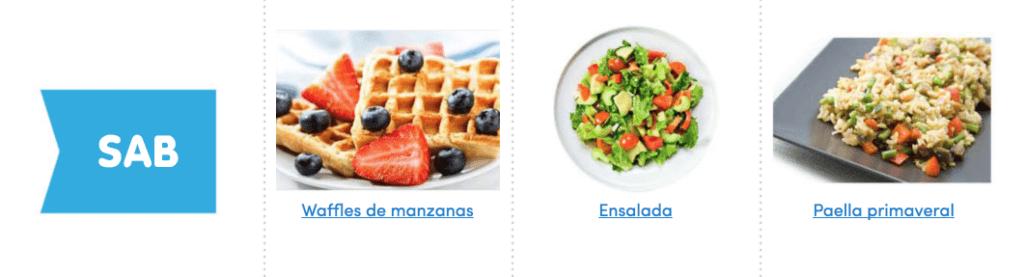 Aquí puedes ver un menú completo, sencillo y vegano para comer sano toda la semana 7