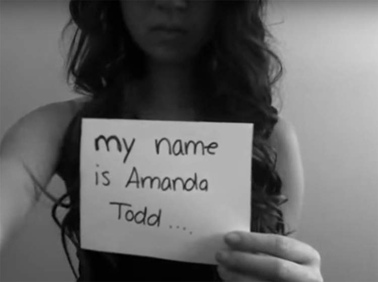 El desgarrador vídeo de Amanda Todd contando su dramático