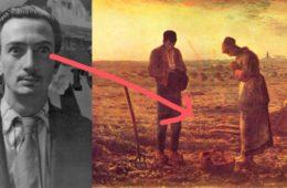 """La fascinante historia real tras la obsesión de Salvador Dalí por el cuadro """"Ángelus"""" de Jean-François Millet 10"""