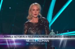 Este es el reivindicativo discurso de Nicole Kidman en los SAG Awards 18