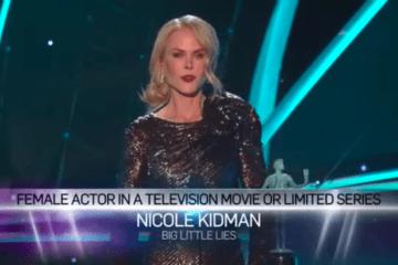 Este es el reivindicativo discurso de Nicole Kidman en los SAG Awards 10