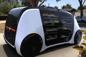Nace Robomart, el coche autónomo que funciona como un supermercado con ruedas 4