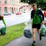 """El """"plogging"""" o cómo correr recogiendo residuos, la nueva tendencia sueca"""
