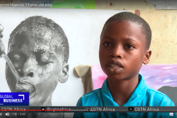 El artista nigeriano de 11 años que está sorprendiendo al mundo con su arte 16
