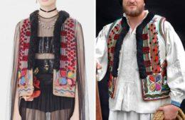 Dior copia ropa tradicional rumana y la vende por 30.000€. De esta genial manera se defienden en Rumanía 18