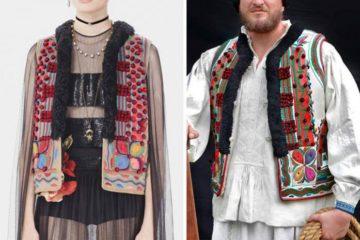 Dior copia ropa tradicional rumana y la vende por 30.000€. De esta genial manera se defienden en Rumanía 16