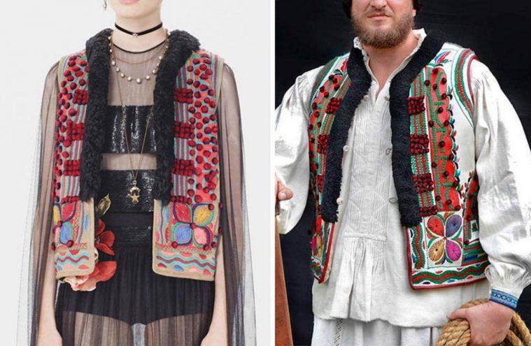 Dior copia ropa tradicional rumana y la vende por 30.000€. De esta genial manera se defienden en Rumanía 2