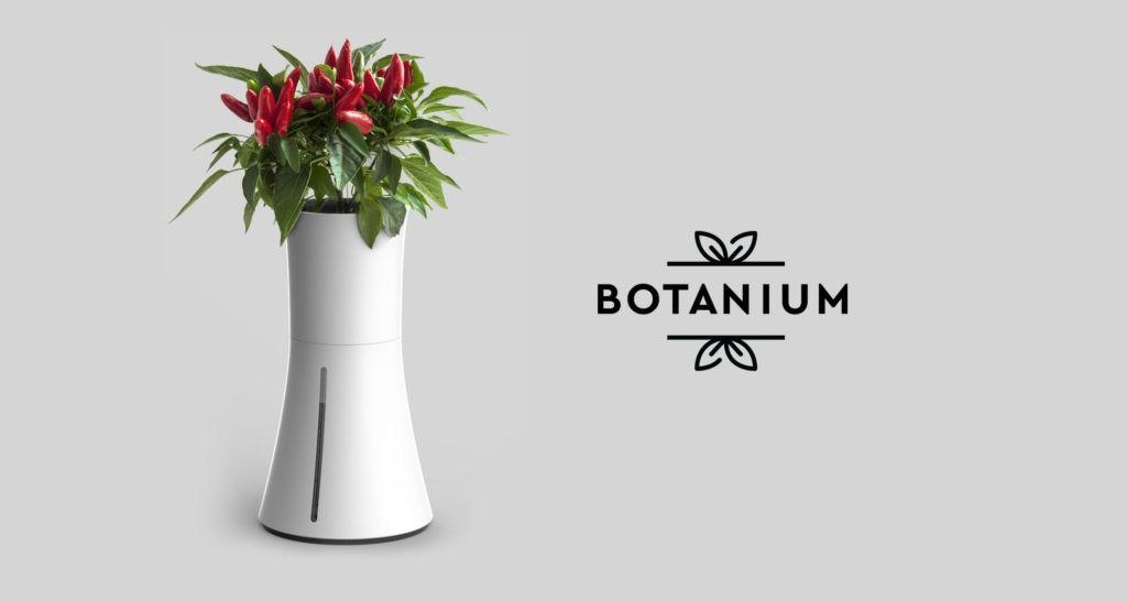 La opción más innovadora de tiesto hidropónico: Botanium 5