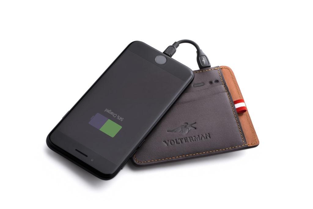 La billetera inteligente Volterman que te carga el móvil y que no te pueden robar 5