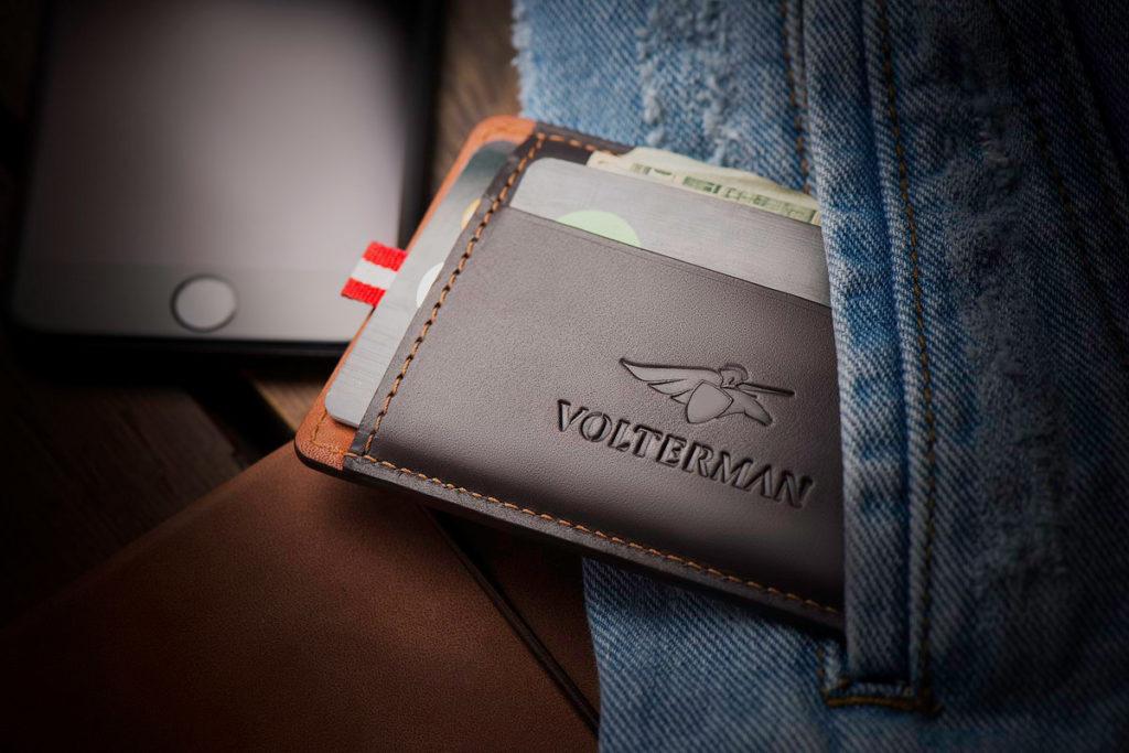 La billetera inteligente Volterman que te carga el móvil y que no te pueden robar 1