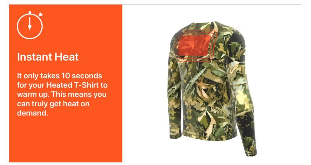 Las camisetas con calefacción más asequibles para un invierno más cálido 2